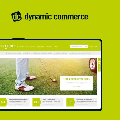 Webshop Software dynamic commerce